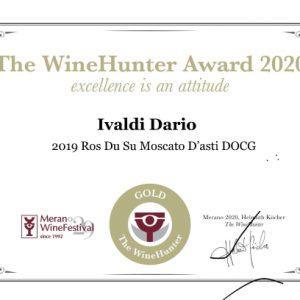 The WineHunter Award GOLD